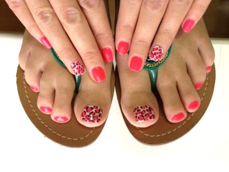 Узоры на ногтях (фото)